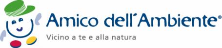 Logo di Amico dell'Ambiente: associazione di raccolta tappi in plastica